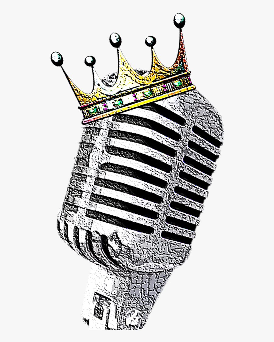 Old School Microphone Tattoo Drawing, Transparent Clipart