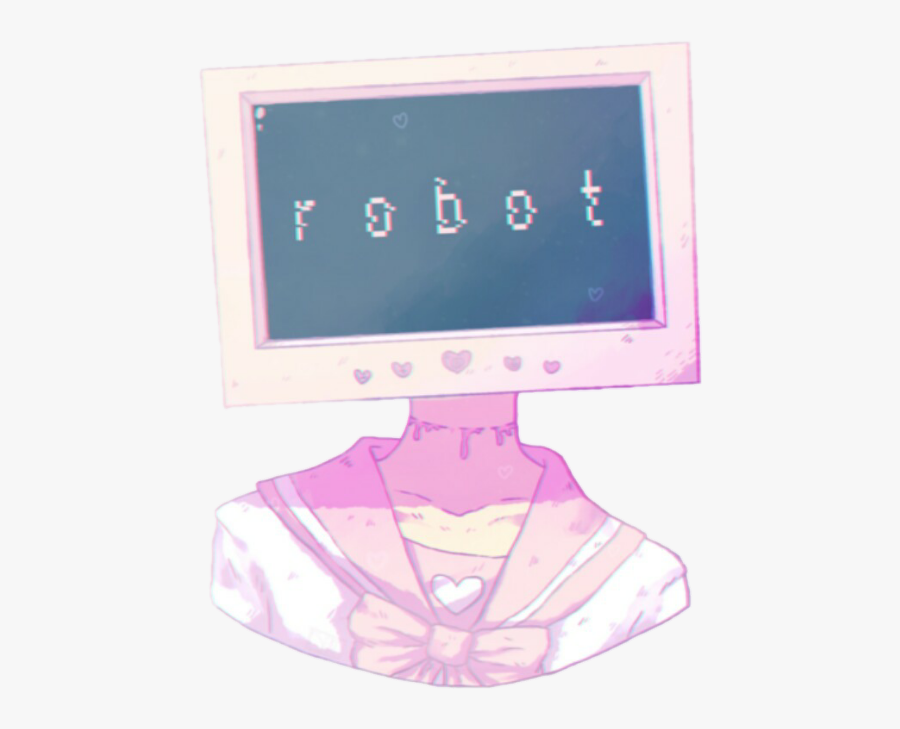 Aesthetic Clipart Computer Free Clipart Png Peach Tumblr - Pastel Aesthetic Drawings, Transparent Clipart