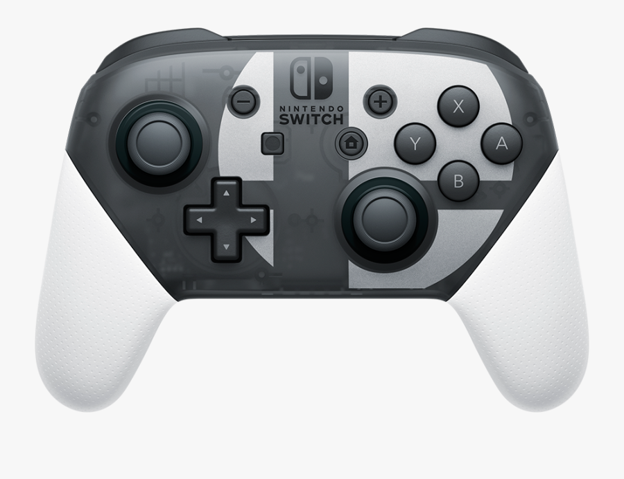 Nintendo Switch Pro Controller, Transparent Clipart