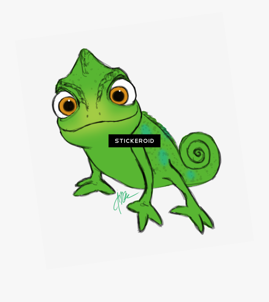 Pascal Drawing Chameleon Transparent Png Clipart Free Tangled Lizard Free Transparent Clipart Clipartkey