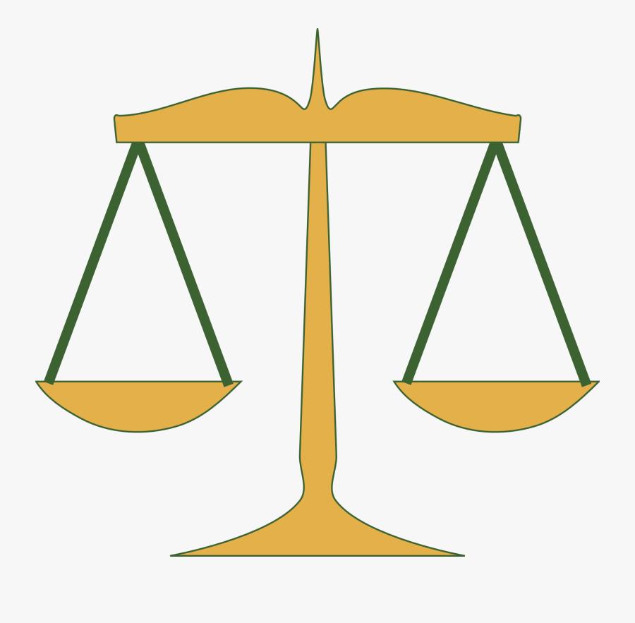 Judge Scale Clip Art, Transparent Clipart
