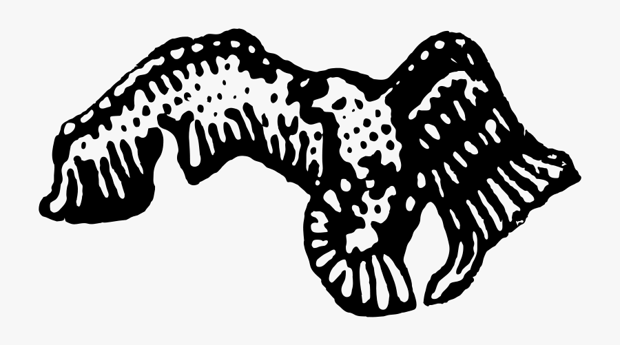 Vectorised Arab Baath Eagle - Vectorised, Transparent Clipart