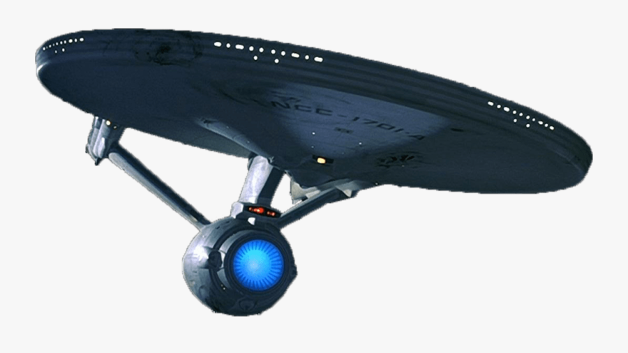 Starship Enterprise Bottom - Star Trek Enterprise Png, Transparent Clipart