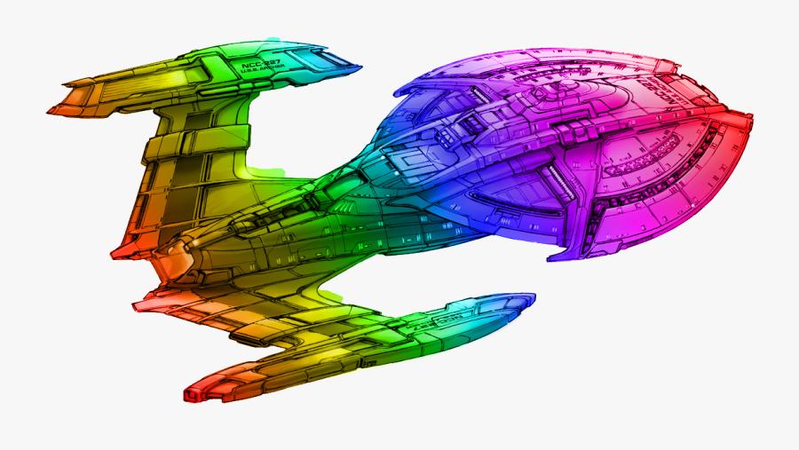 Rainbow Starship Wiki Fandom Powered - Star Trek Ship Concept Art, Transparent Clipart