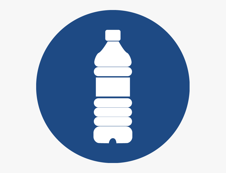 Complimentary Bottled Water - Plastic Bottle, Transparent Clipart