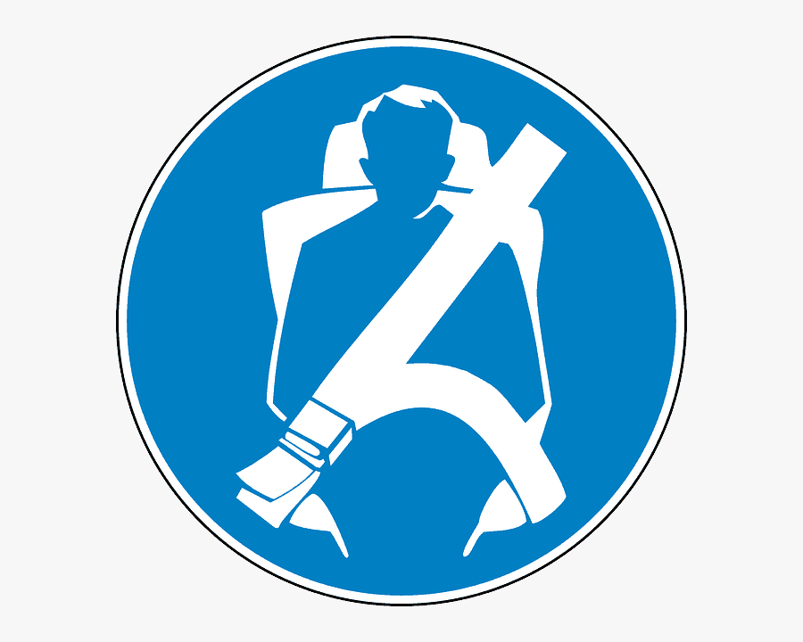 Seat Belt - Wear Seat Belt Campaign, Transparent Clipart