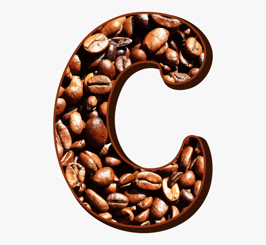 Coffee,instant Coffee,commodity - Coffee Beans C Alphabet Png, Transparent Clipart