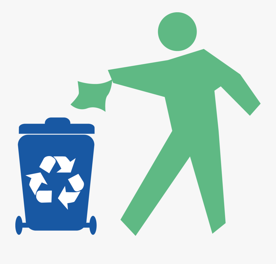 Paper Recycling Symbol Pulp Waste - Recycle Png, Transparent Clipart