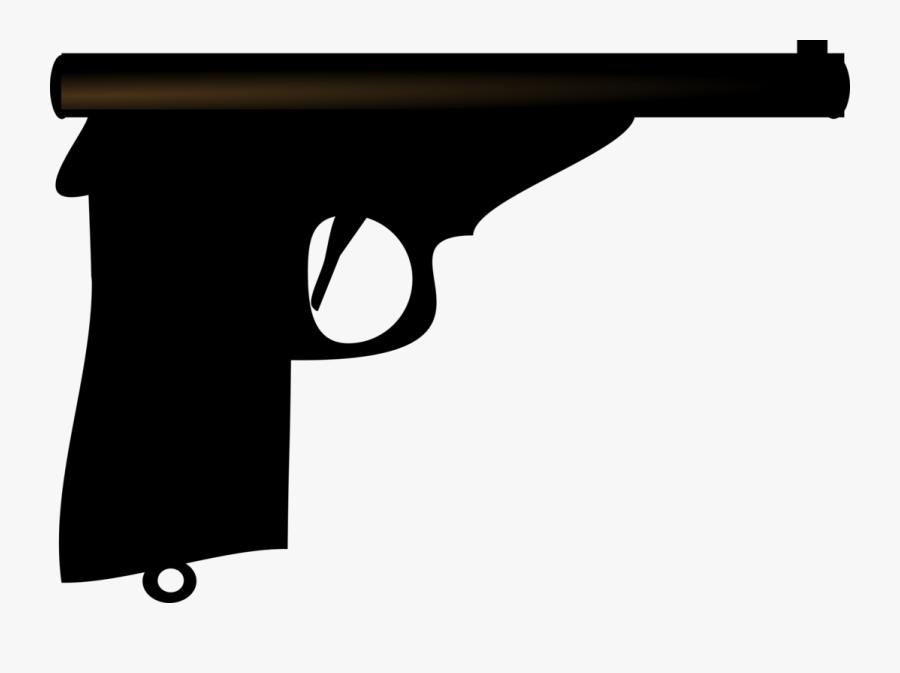 Gun Accessory,angle,gun Barrel - Firearm, Transparent Clipart