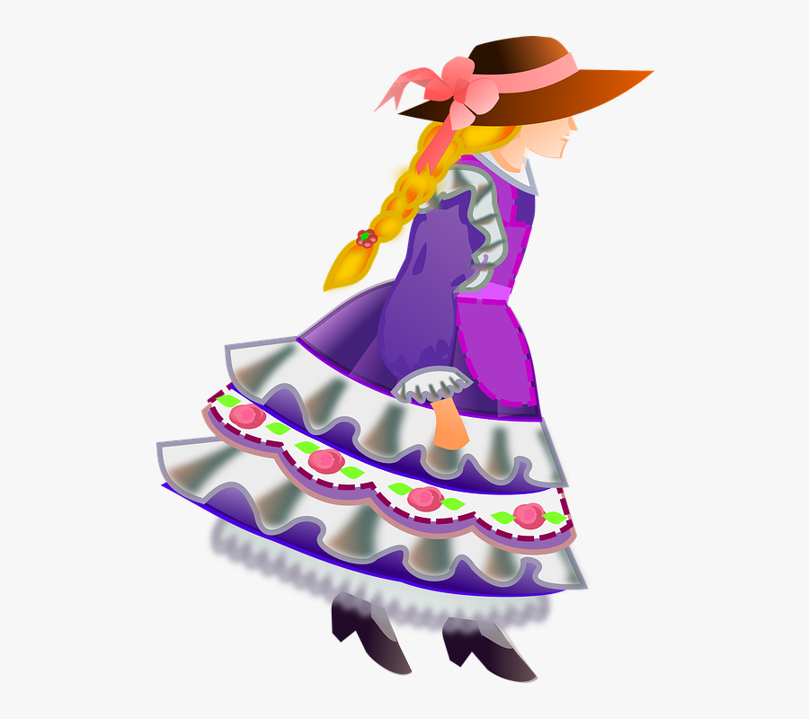Png Clipart Girl With Purple Hat Clipart, Transparent Clipart