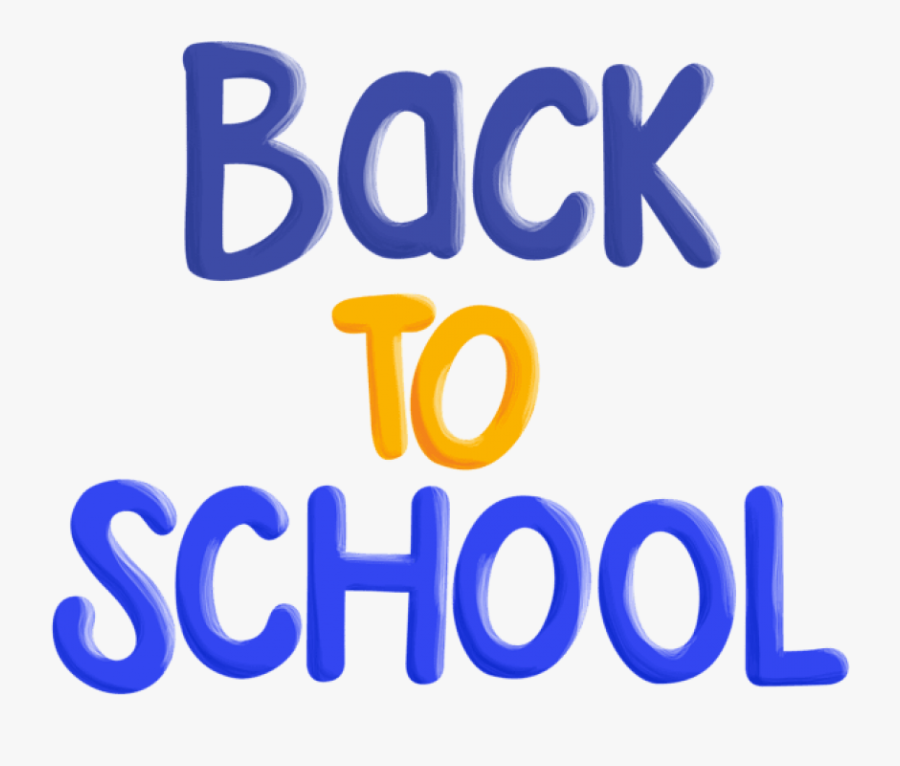 Free Png Download Back To School Text Clipart Png Photo - Electric Blue, Transparent Clipart