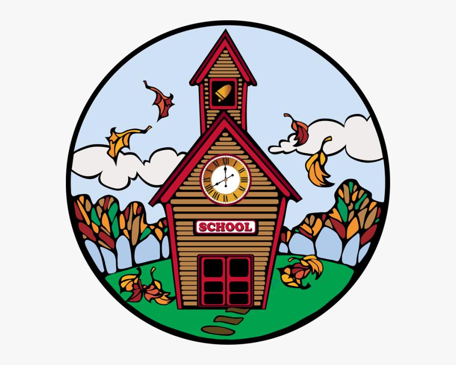 Free Back To School Clip Art - Fall School Clip Art, Transparent Clipart
