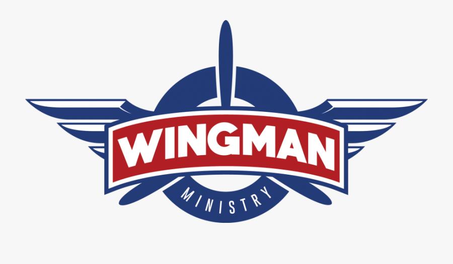 Wingman Logo, Transparent Clipart