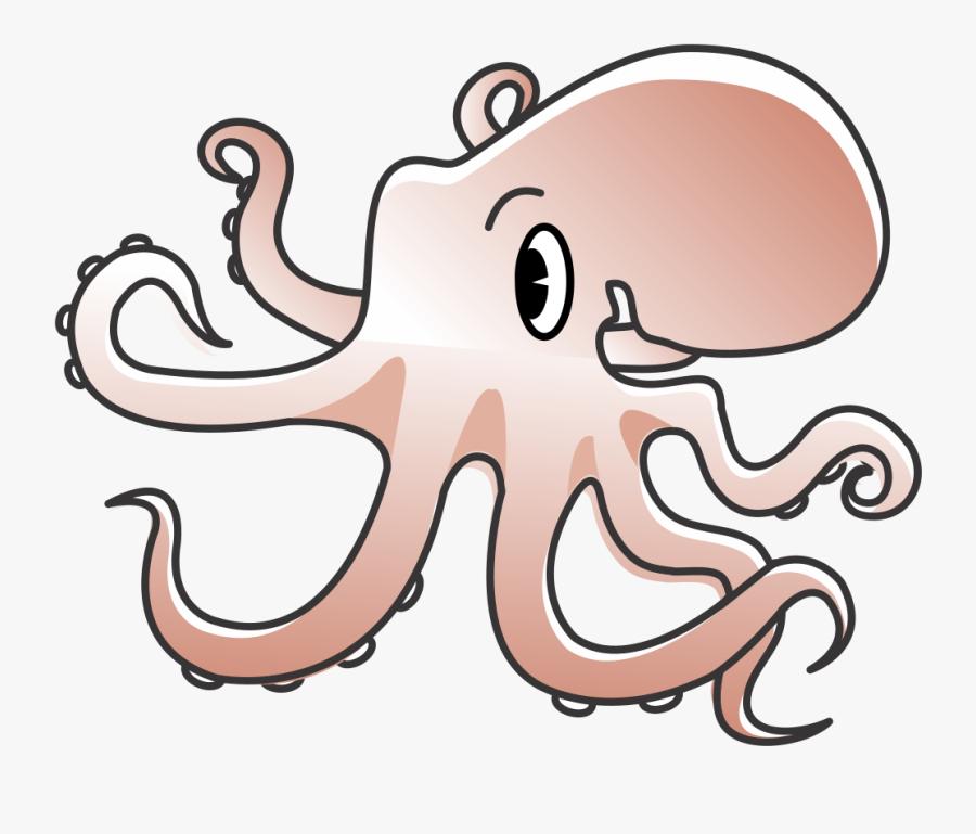 Octopus - Public Domain Clip Art Free For Commercial Use Octopus, Transparent Clipart