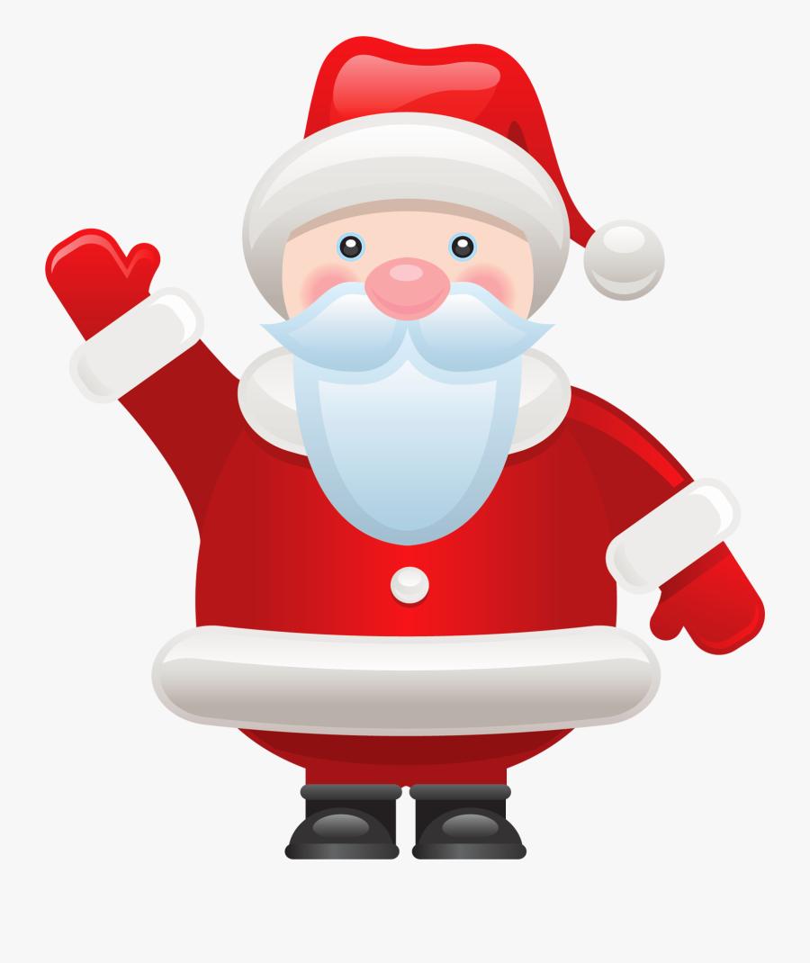 Santa Claus Clip Art - Santa Claus Gif Png, Transparent Clipart