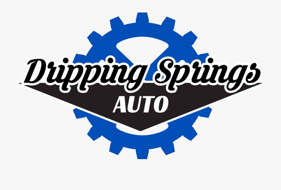 Dripping Springs Auto - Emblem, Transparent Clipart