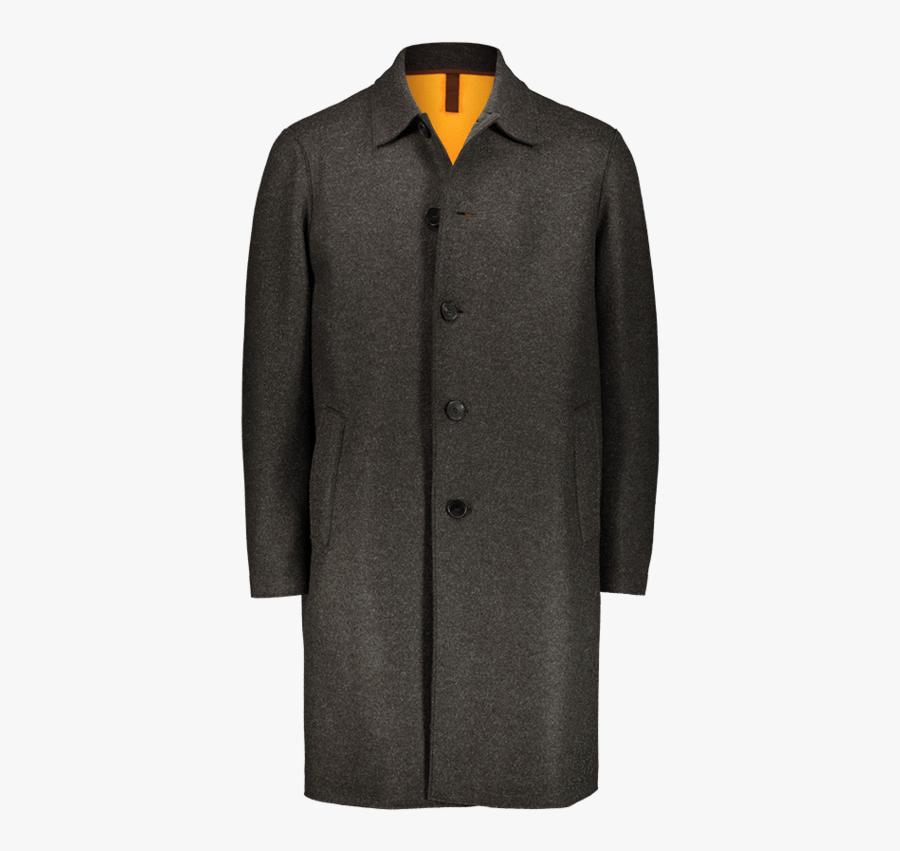 Cappotto Monopetto Verde Militare - Overcoat, Transparent Clipart