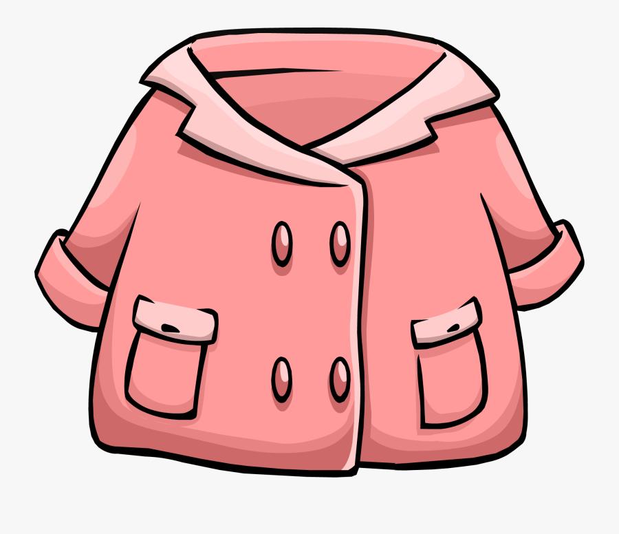 Club Penguin Rewritten Wiki - Jacket Clipart, Transparent Clipart