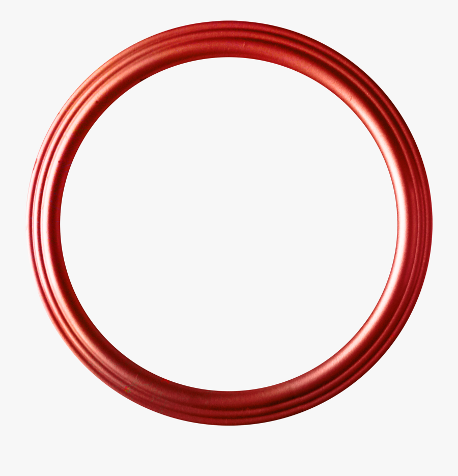 Circle Red Disk Shape - Circle Shape Logo Png, Transparent Clipart