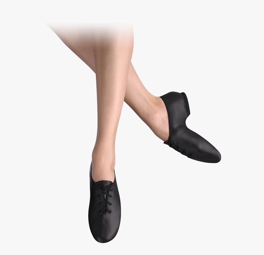 Transparent Jazz Shoes Clipart - Jazz Shoes Split Sole, Transparent Clipart