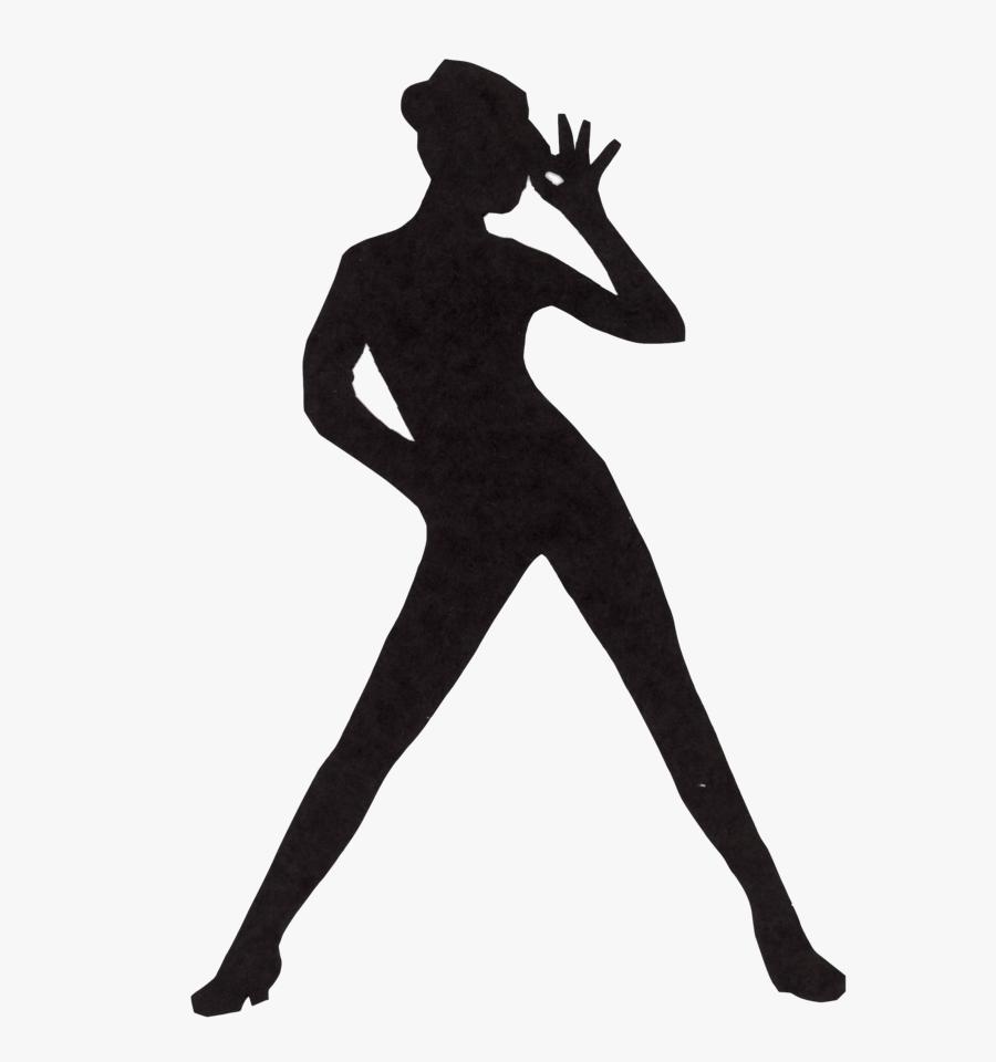 Silhouette Jazz Dance, Transparent Clipart