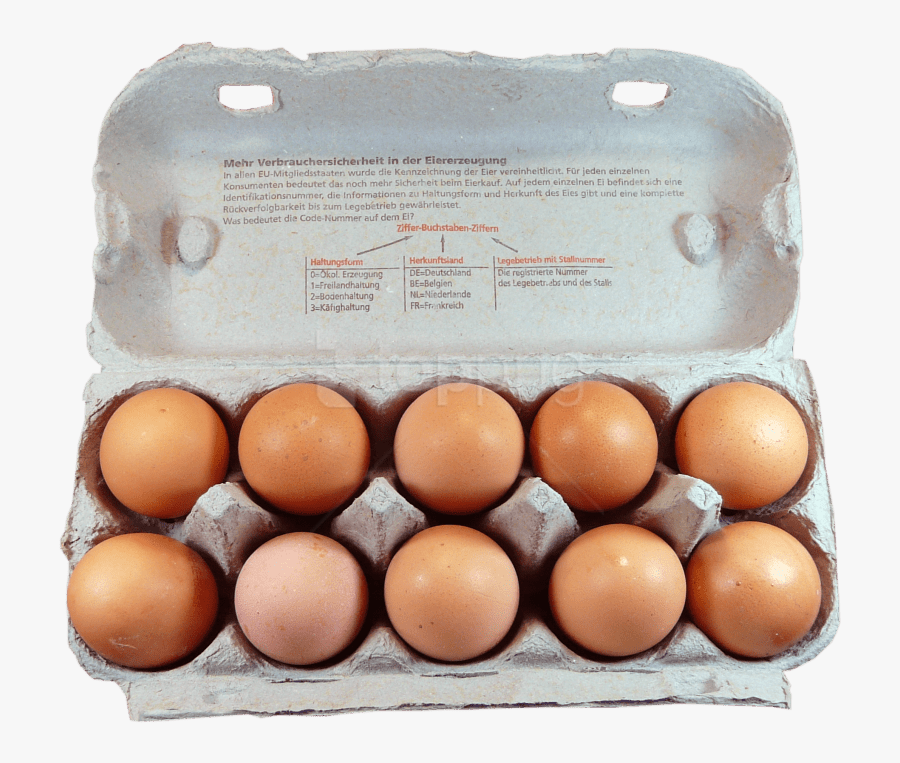 Transparent Eggs And Toast Clipart - Boxed Eggs, Transparent Clipart