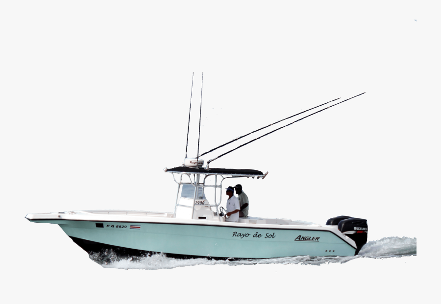 Fast Fishing Boat - Fishing Boat Transparent Background, Transparent Clipart