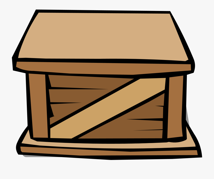 Club Penguin Rewritten Wiki - Crate Clipart Png, Transparent Clipart