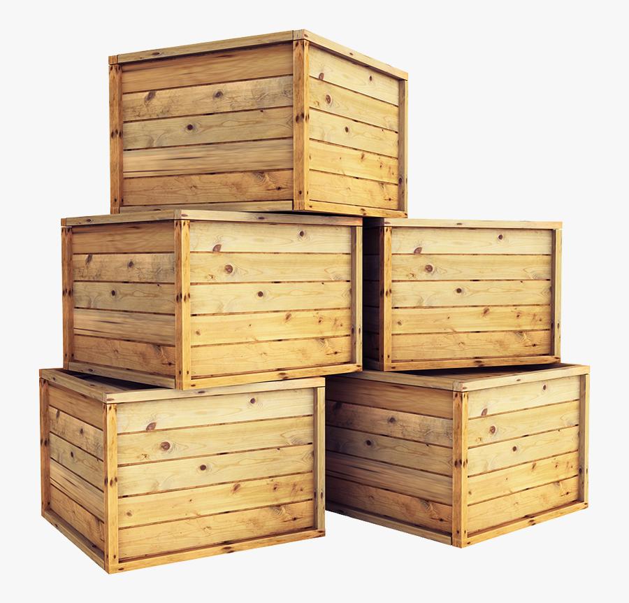 Crates Png - Opakowania Drewniane, Transparent Clipart
