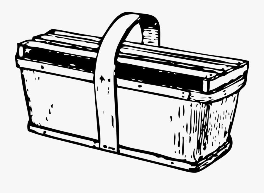 Line Art,material,rectangle - Crate, Transparent Clipart
