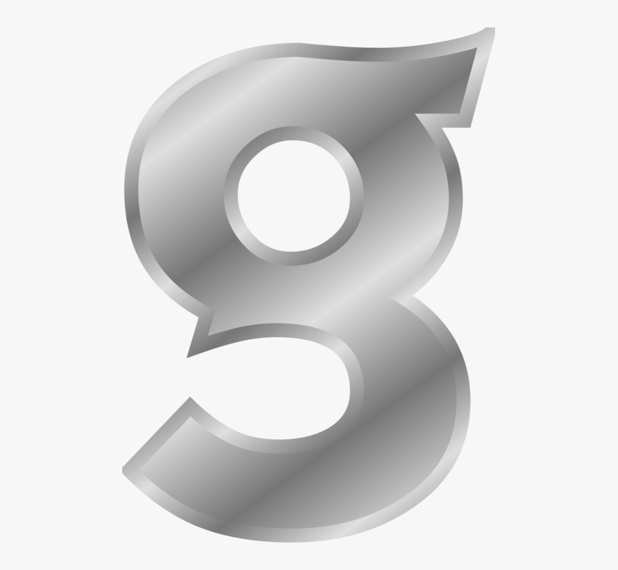 Transparent Www Clipartof Com - Silver Letter G Transparent, Transparent Clipart