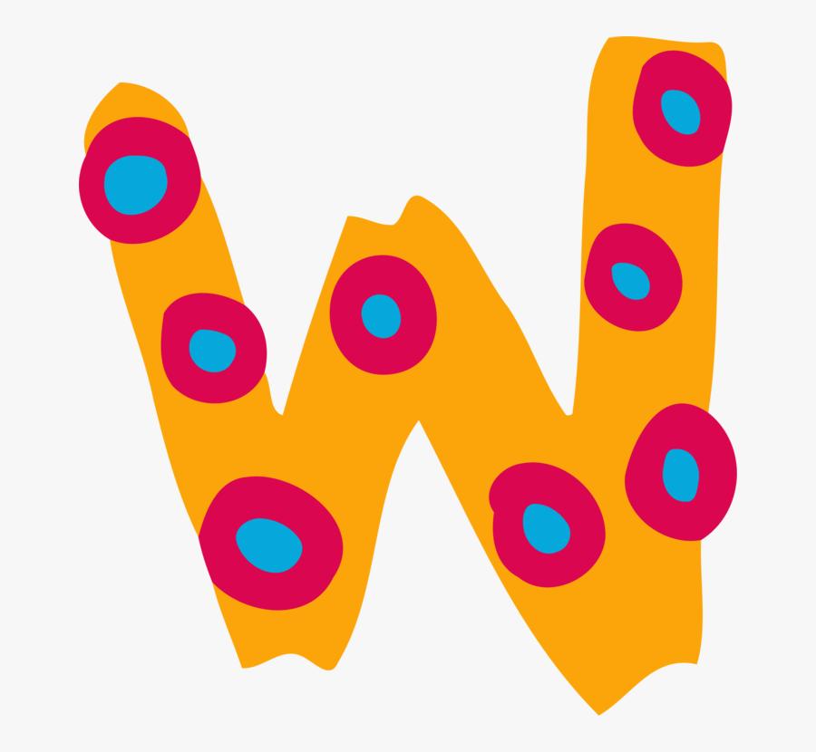 Area,logo,text - Letter W Clipart, Transparent Clipart