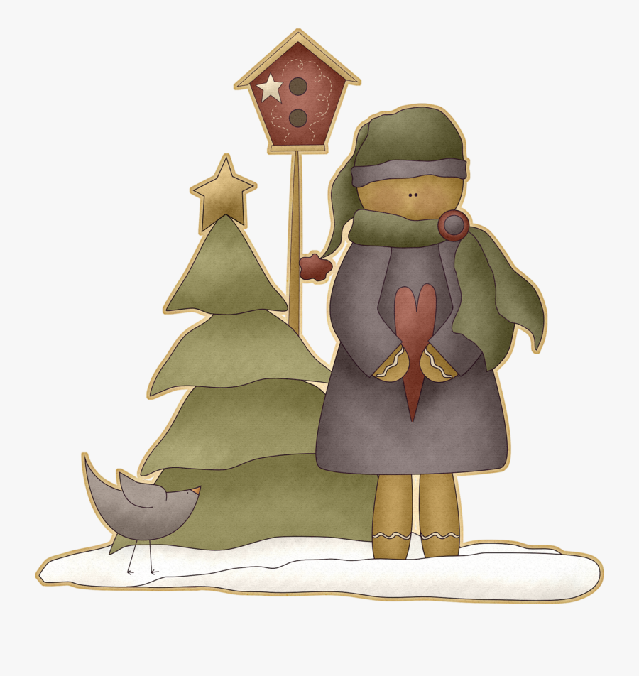 Country Clipart Prim - Christmas Country Transparent Clipart, Transparent Clipart