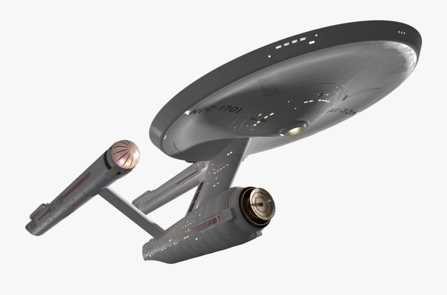 Spock Uss Enterprise Starship Enterprise Star Trek - Uss Enterprise Ncc 1701 Png, Transparent Clipart