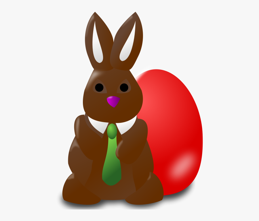 Easter Icon - Free Chocolate Bunny Clip Art, Transparent Clipart
