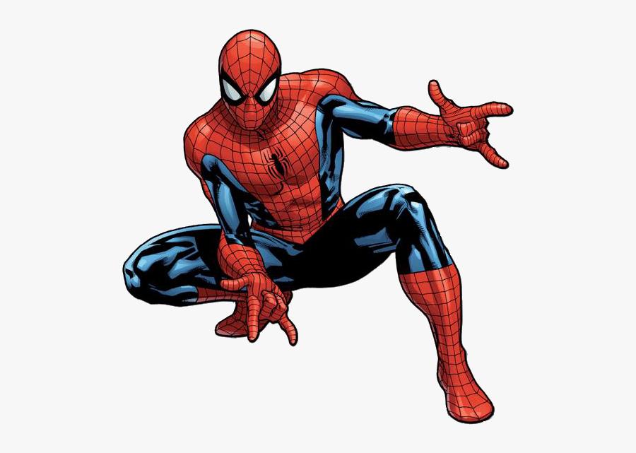 Spider-man Transparent - Spider Man Comic Png, Transparent Clipart