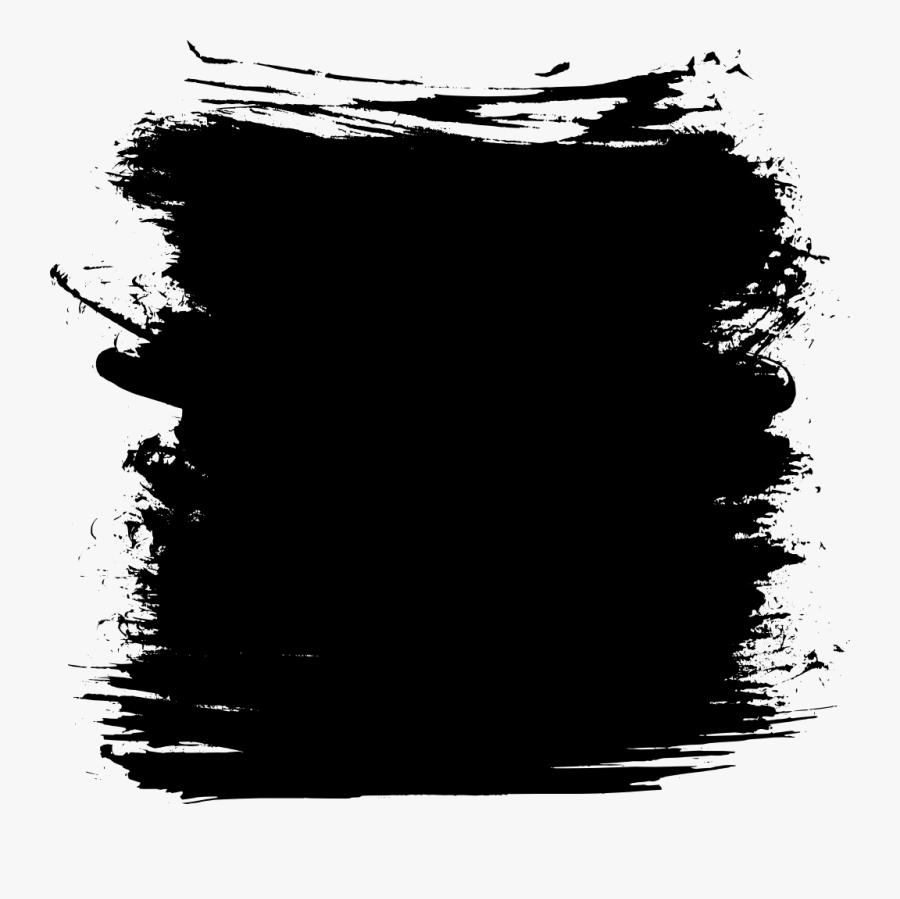 Black Square Png - Grunge Square Vector Png, Transparent Clipart