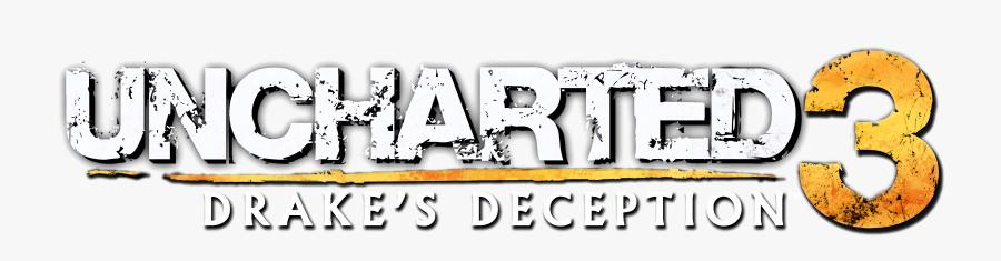 Transparent Drake Clipart - Uncharted 3 Drake's Deception Logo, Transparent Clipart