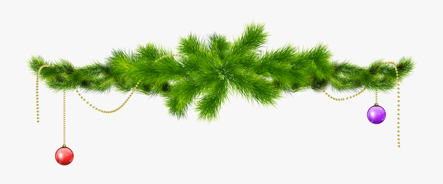 Pine Branch Clipart - Christmas Tree Branch Png, Transparent Clipart