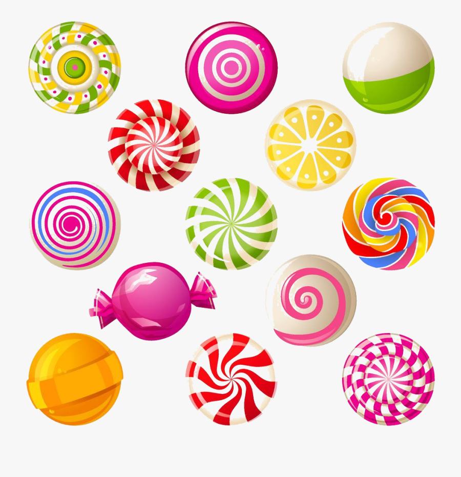 Cotton Clipart Stick Png - Sweet Candy Clipart, Transparent Clipart
