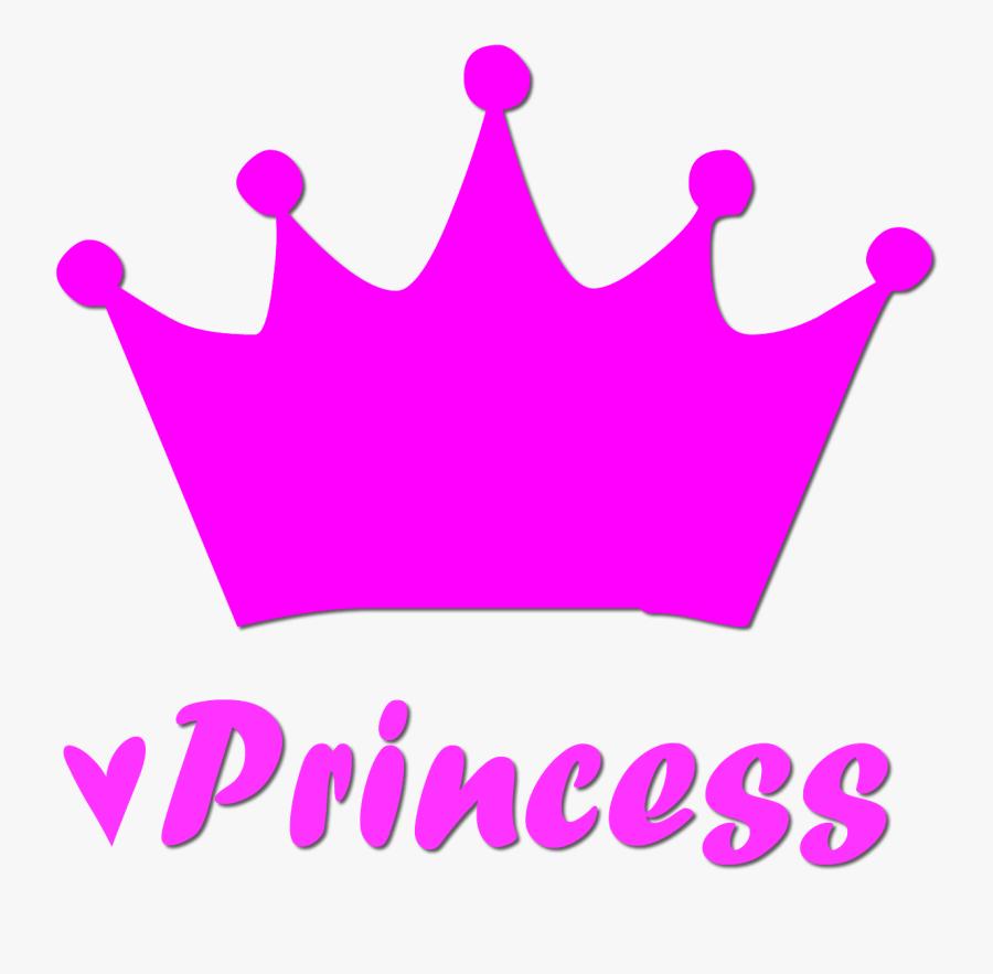 Princess Crown Silhouette - Princess Logo Png, Transparent Clipart