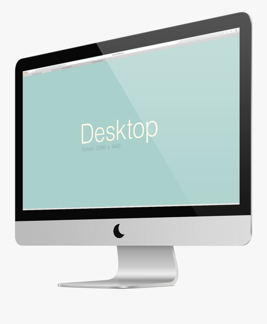 Computer Monitor Display Device Apple Thunderbolt Display - Computer Monitor, Transparent Clipart
