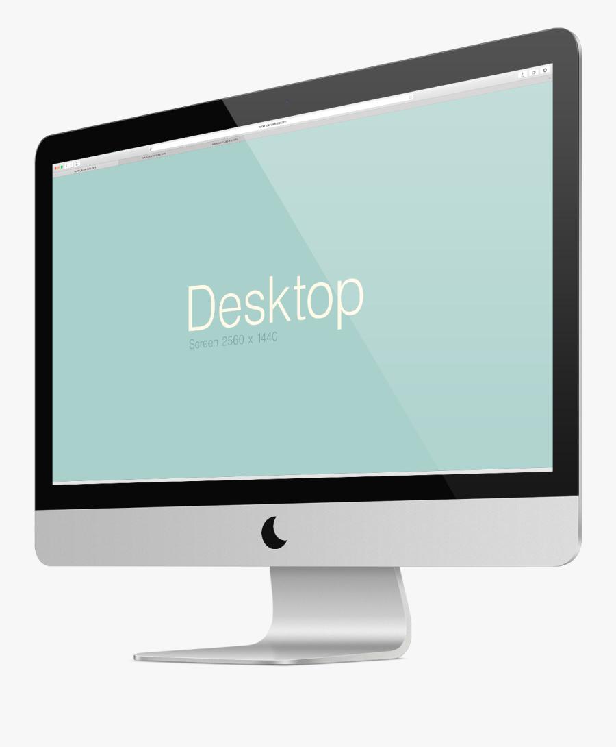 Computer Monitor Display Device Apple Thunderbolt Display - Computer Monitor, Transparent Clipart