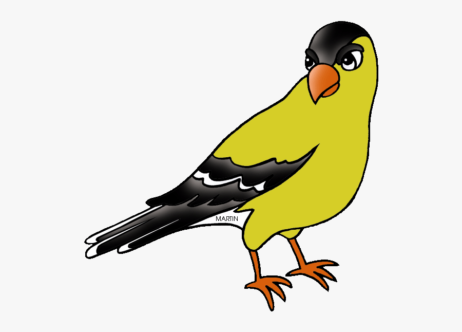 Free United States Clip Art By Phillip Martin, New - New Jersey State Bird Clip Art, Transparent Clipart