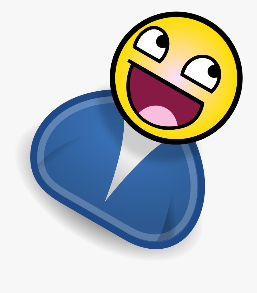 Happy Person File Bathrobecabalicon Svg Wikimediamons - Happy Person Clip Art, Transparent Clipart