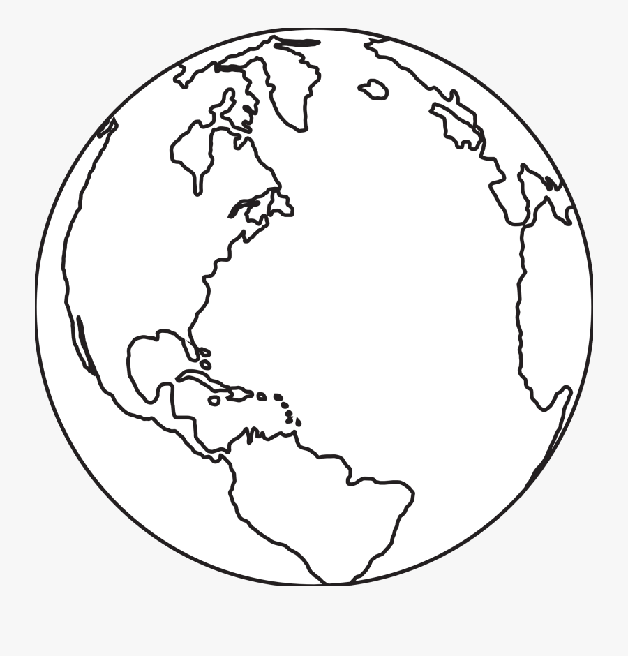 Cliparts For Free Download Earth Clipart Line Drawing - Countries Celebrate Thanksgiving, Transparent Clipart