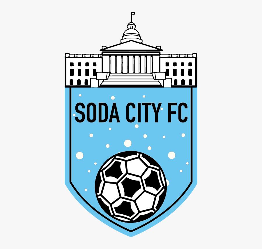 Sodacitysoccer-logo - Columbia Sc Semi Pro Soda City Fc, Transparent Clipart