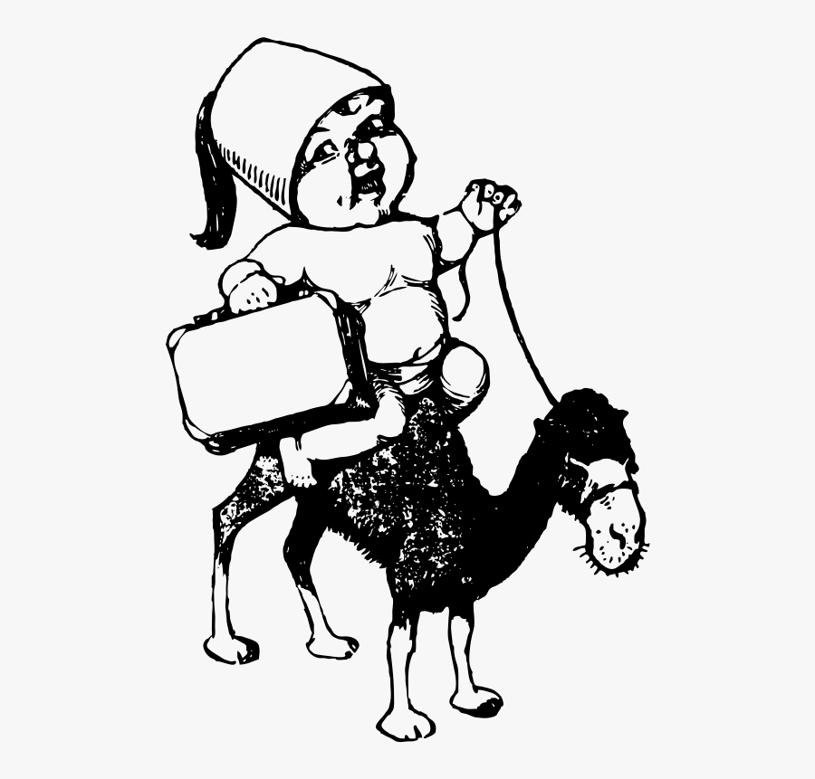 Transparent Camel Clipart Black And White - Portable Network Graphics, Transparent Clipart