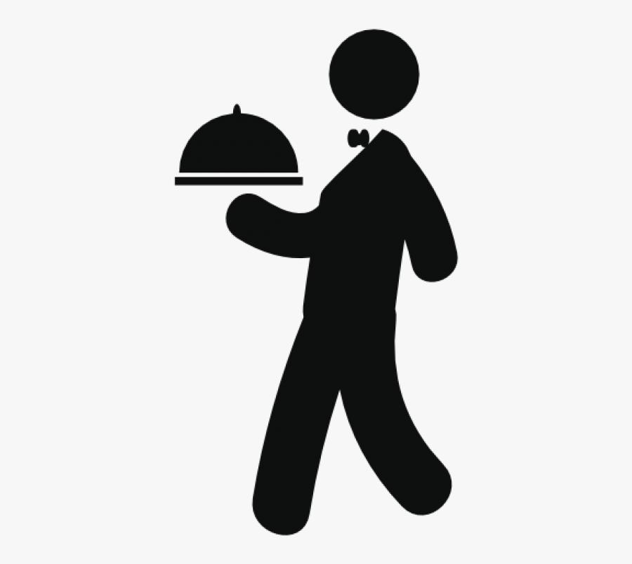 Waiter Png Image - Restaurant Icon, Transparent Clipart