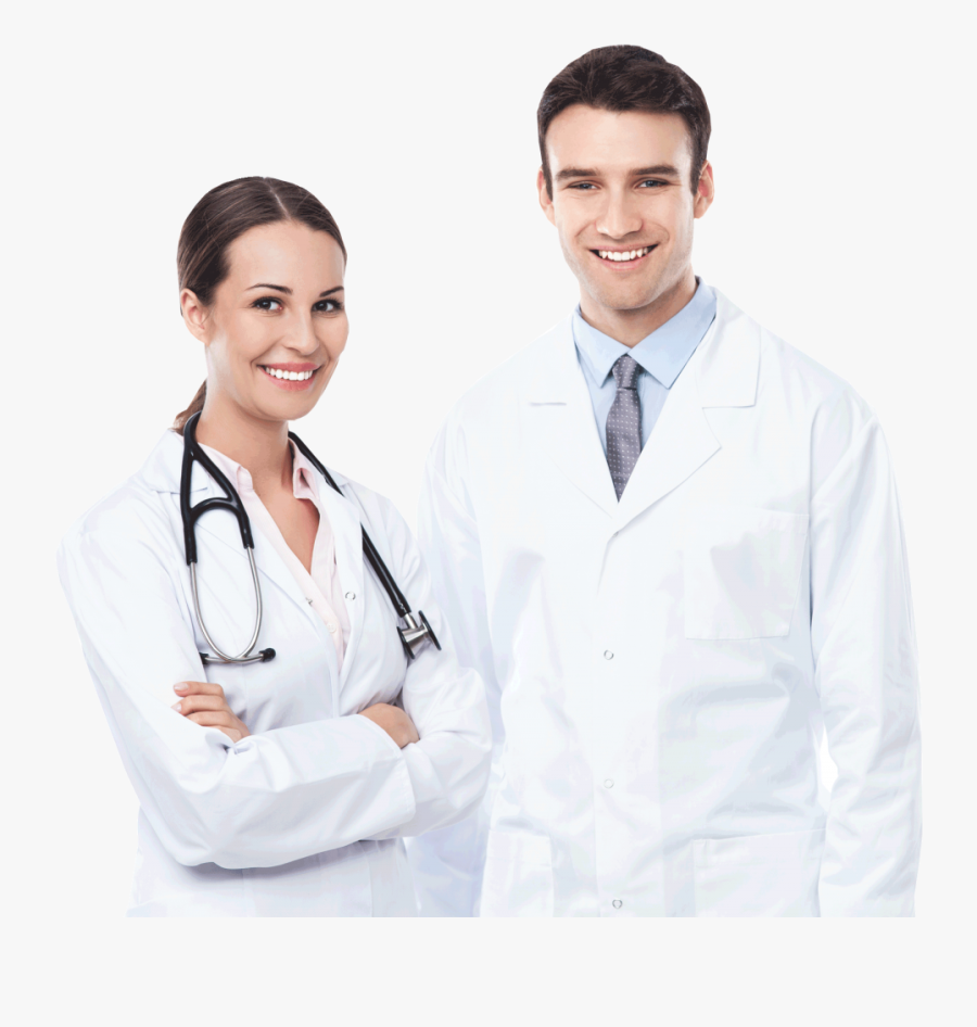 Doctors Png Image - Male And Female Doctor, Transparent Clipart